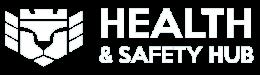 Health & safety hub logo v1 white